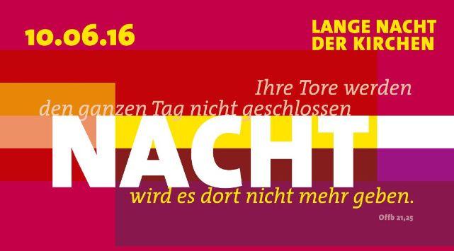 Die Chornissen bei der langen nacht der Kirchen 2016 in Wien